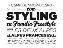 Styling Snowboard Camps promotion